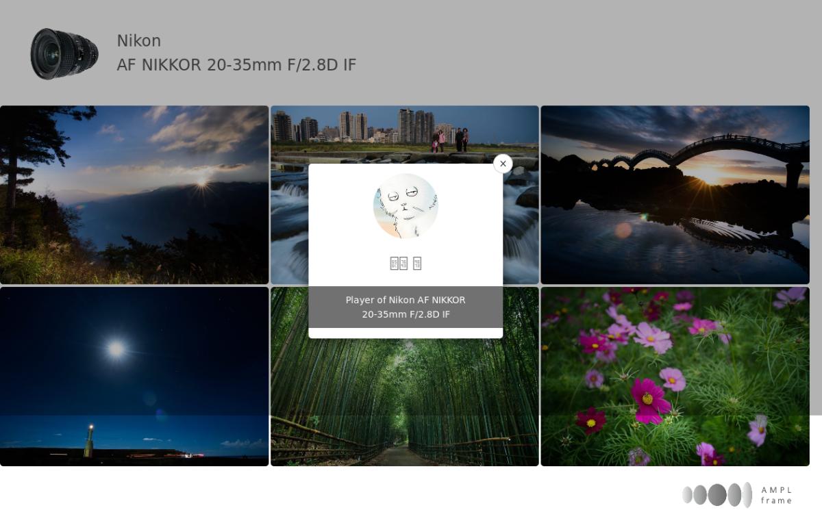 Nikon Af Nikkor 20 35mm F 28d If Amplframe Micro 60mam Lens