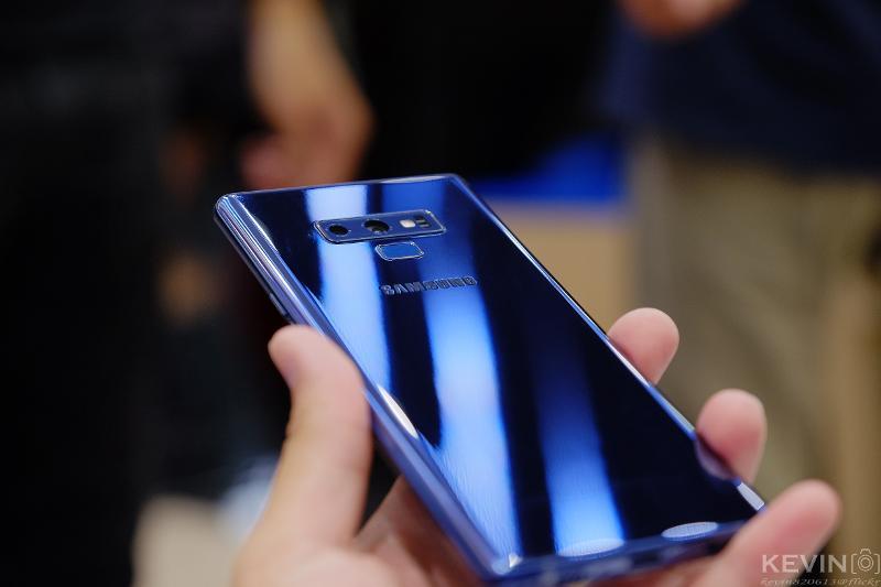 Samsung Galaxy Note9 512G 開箱照與簡單心得