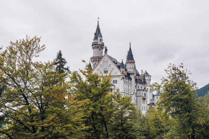 【德國】羅曼蒂克大道:新天鵝堡 11