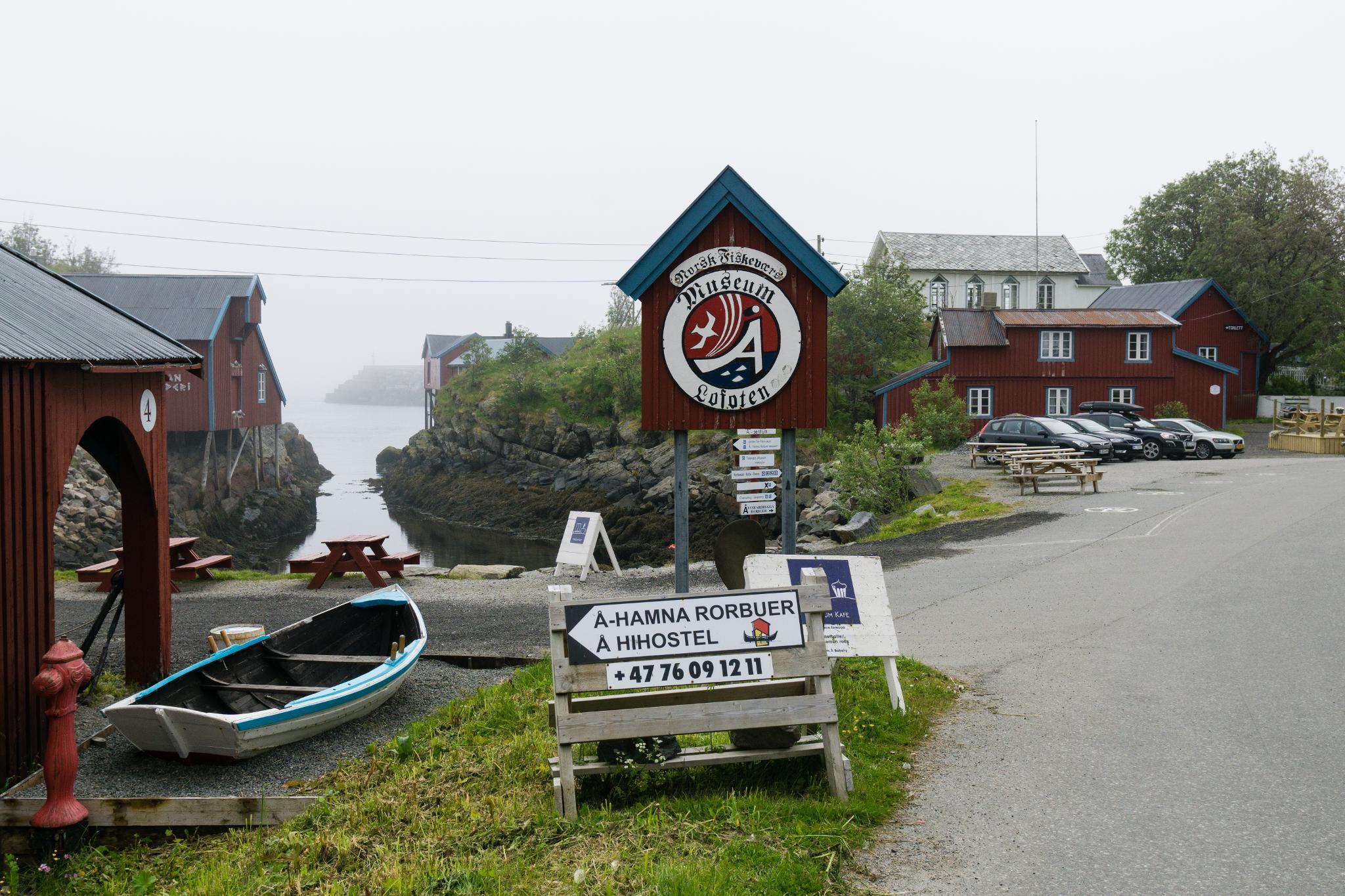 【羅弗敦群島】世界最短的地名 - Å 奧鎮 6