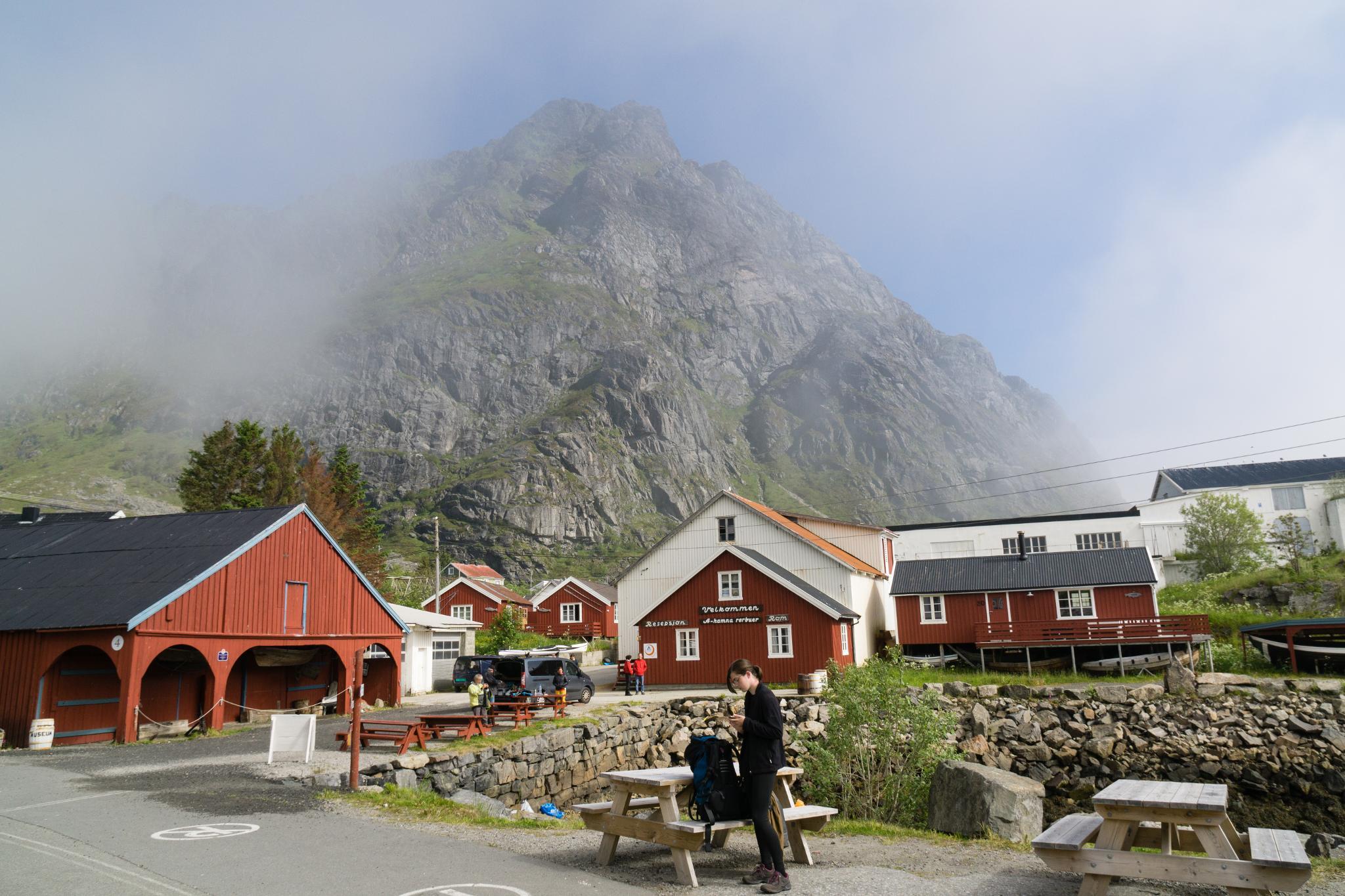 【羅弗敦群島】世界最短的地名 - Å 奧鎮 8