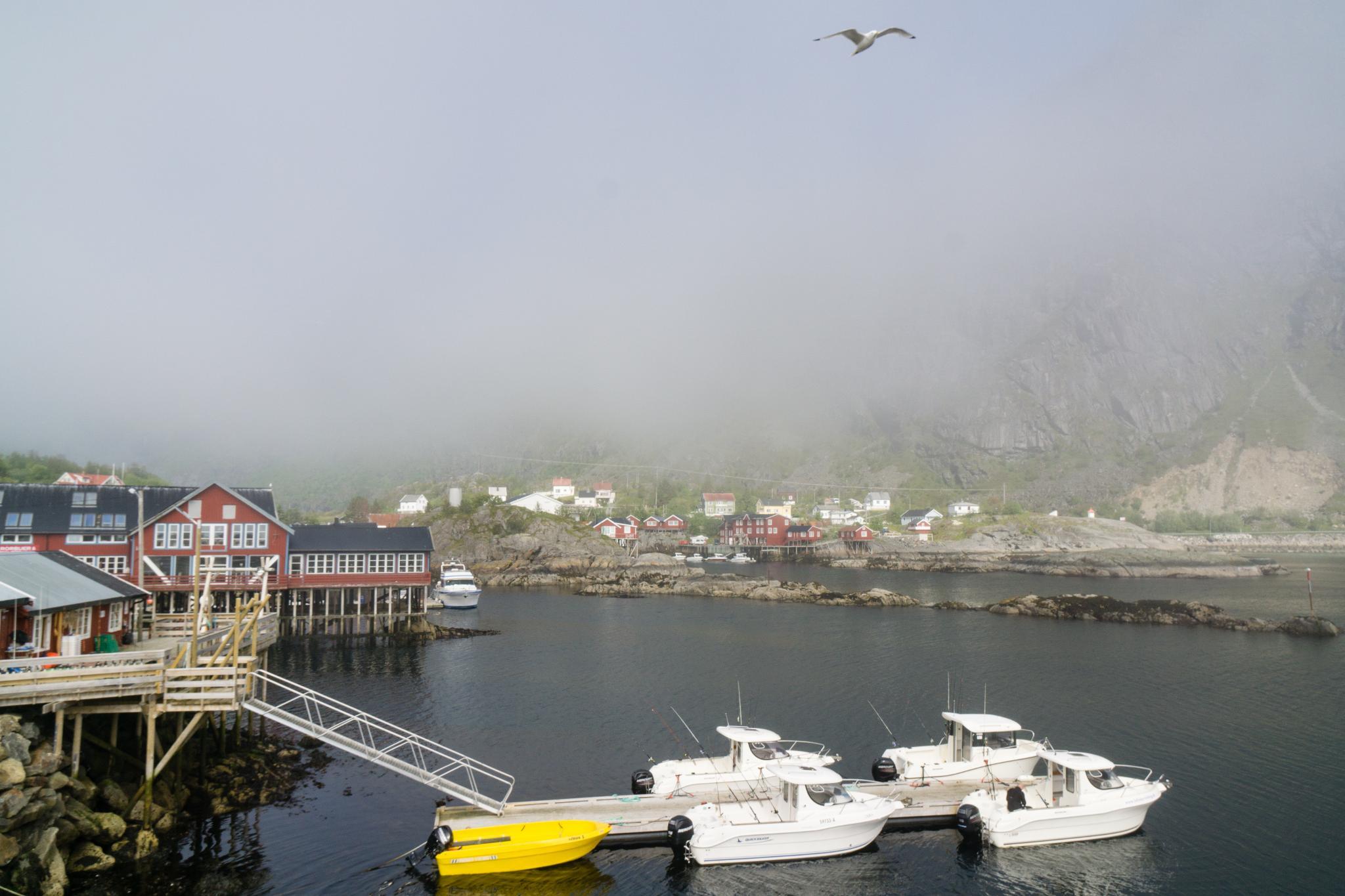 【羅弗敦群島】世界最短的地名 - Å 奧鎮 12
