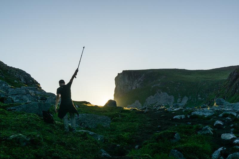 【羅弗敦群島】在世界的盡頭追逐午夜太陽 - Kvalvika Beach 15