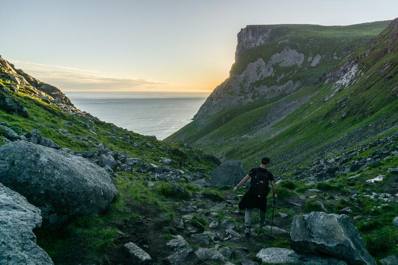 【羅弗敦群島】在世界的盡頭追逐午夜太陽 - Kvalvika Beach 14