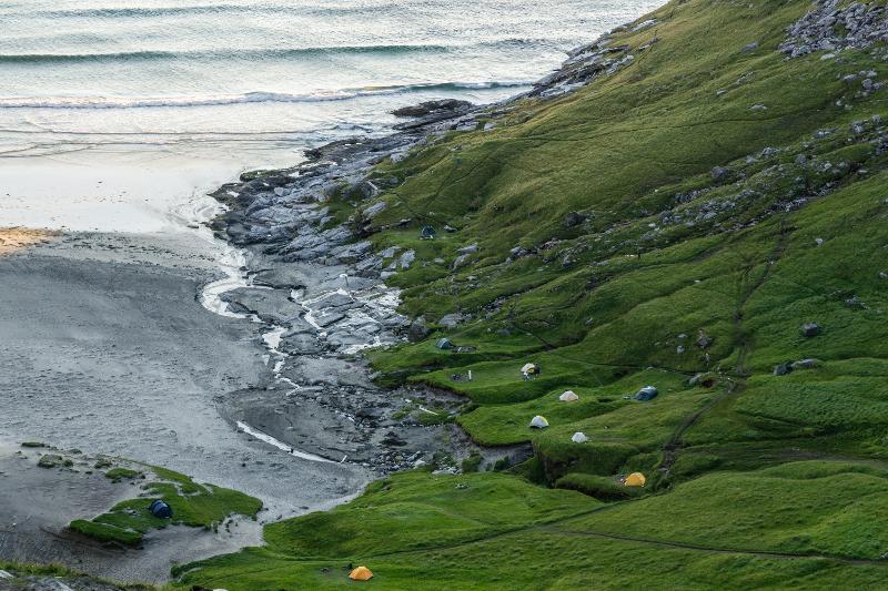 【羅弗敦群島】在世界的盡頭追逐午夜太陽 - Kvalvika Beach 18