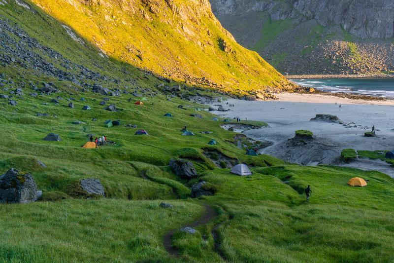 【羅弗敦群島】在世界的盡頭追逐午夜太陽 - Kvalvika Beach 19