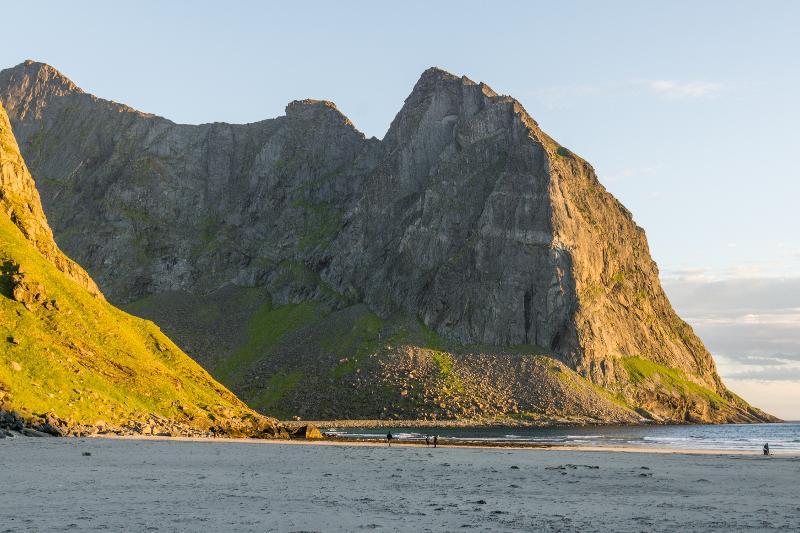 【羅弗敦群島】在世界的盡頭追逐午夜太陽 - Kvalvika Beach 20