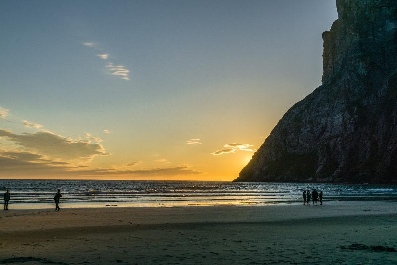 【羅弗敦群島】在世界的盡頭追逐午夜太陽 - Kvalvika Beach 21