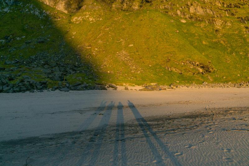 【羅弗敦群島】在世界的盡頭追逐午夜太陽 - Kvalvika Beach 22