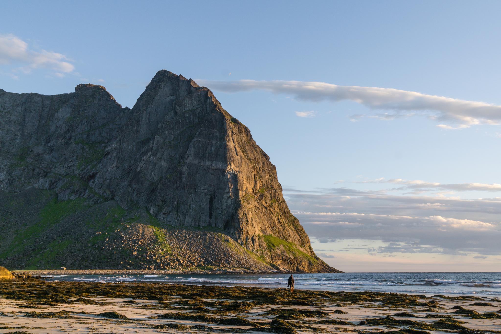 【羅弗敦群島】在世界的盡頭追逐午夜太陽 - Kvalvika Beach 23