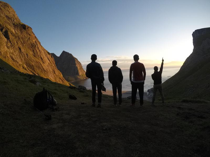 【羅弗敦群島】在世界的盡頭追逐午夜太陽 - Kvalvika Beach 31