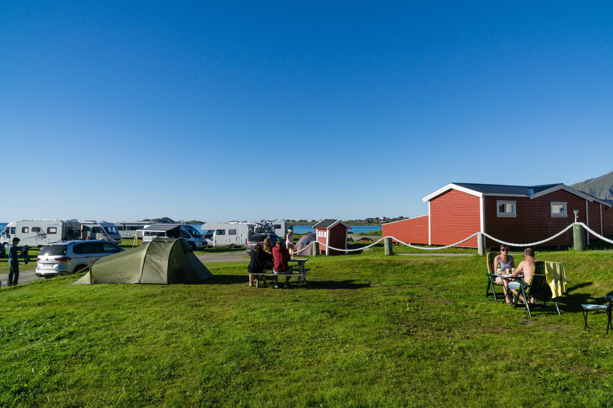 【北歐露營】推薦羅弗敦群島露營地 - Ramberg Camping 5