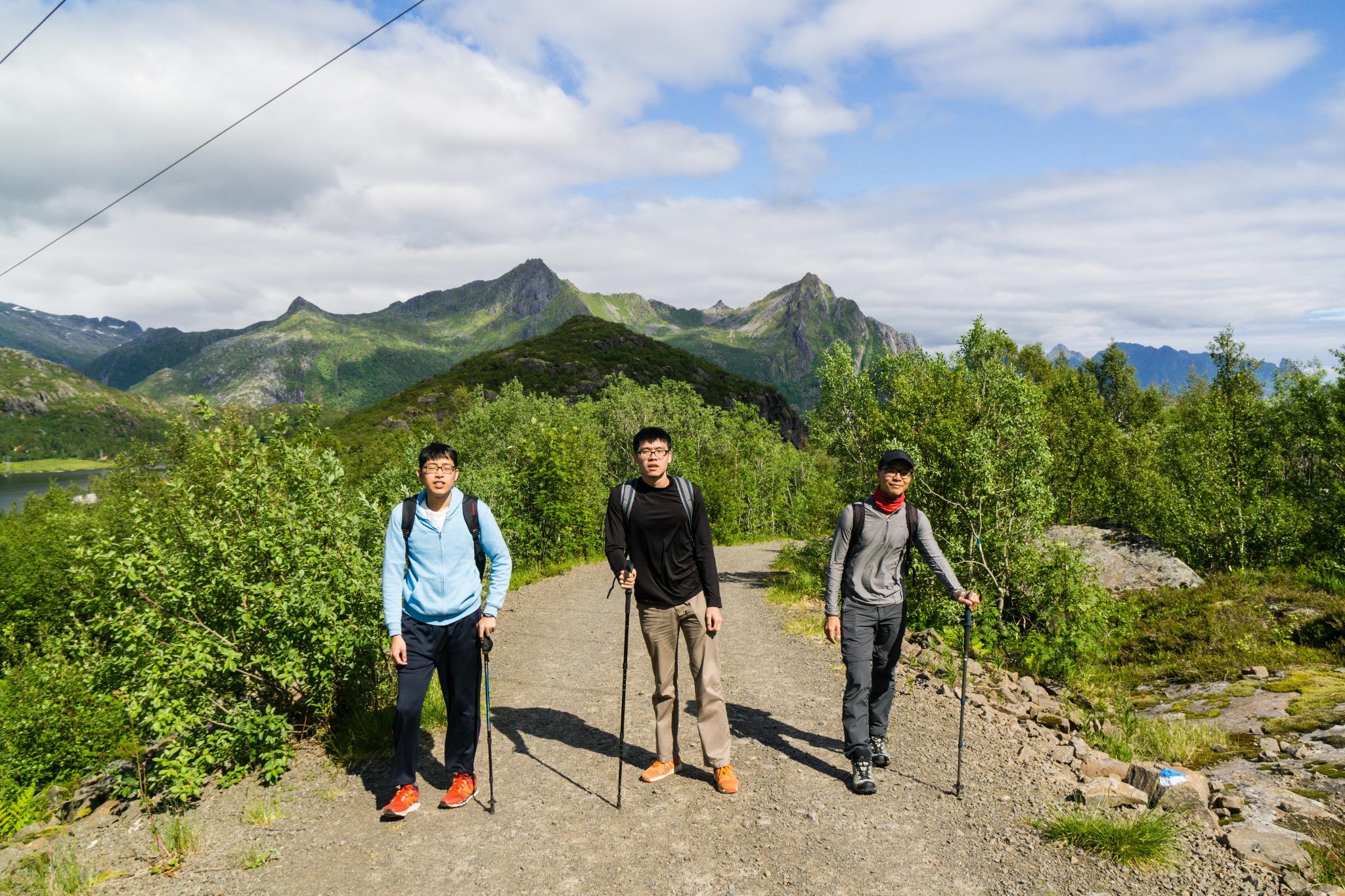 【羅弗敦群島】一次眺望兩個小鎮的人氣健行路線 - Tjeldbergtind Trail 4
