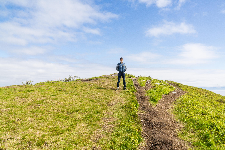 【羅弗敦群島】一次眺望兩個小鎮的人氣健行路線 - Tjeldbergtind Trail 21