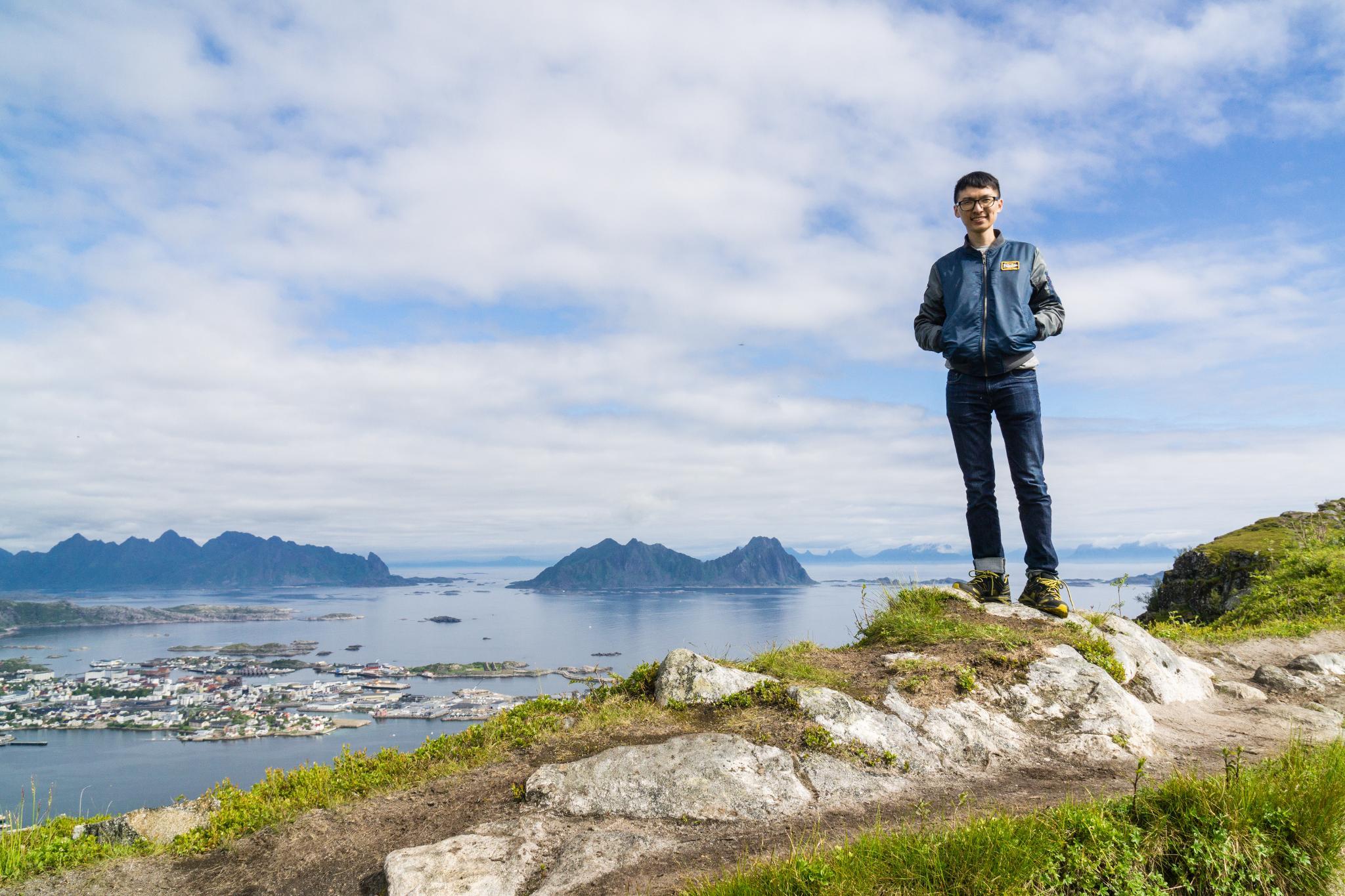 【羅弗敦群島】一次眺望兩個小鎮的人氣健行路線 - Tjeldbergtind Trail 15