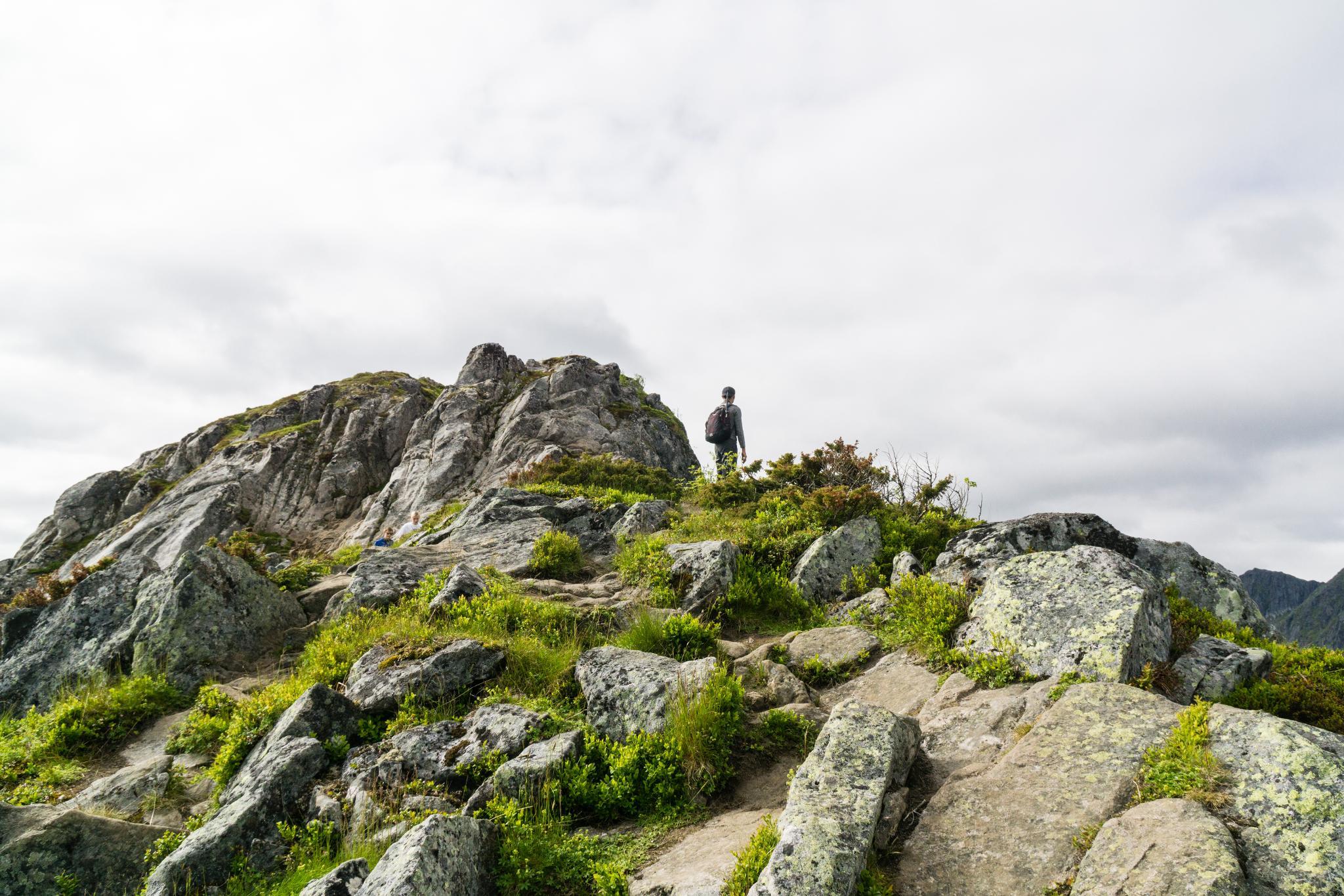 【羅弗敦群島】一次眺望兩個小鎮的人氣健行路線 - Tjeldbergtind Trail 23