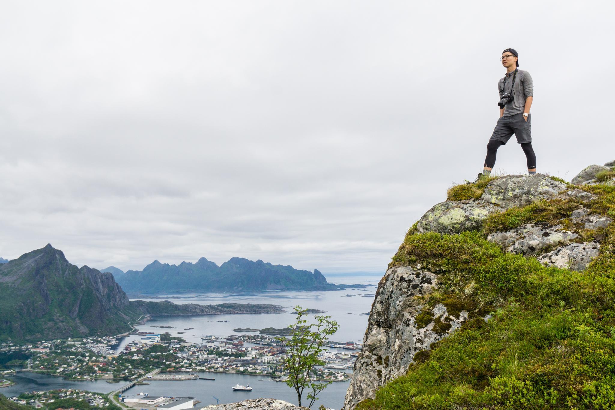 【羅弗敦群島】一次眺望兩個小鎮的人氣健行路線 - Tjeldbergtind Trail 16