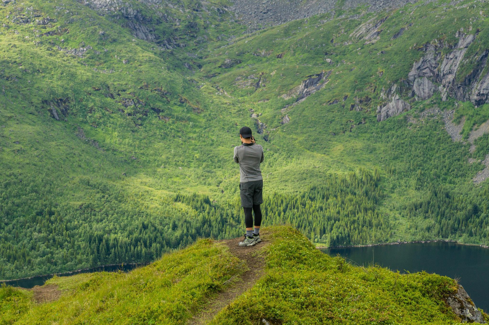 【羅弗敦群島】一次眺望兩個小鎮的人氣健行路線 - Tjeldbergtind Trail 27
