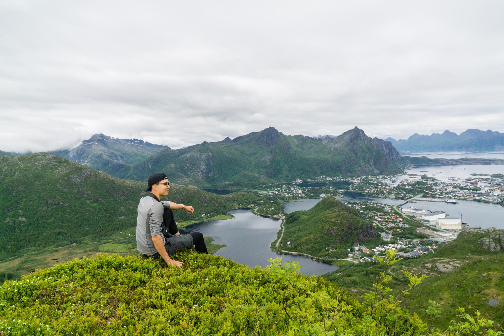 【羅弗敦群島】一次眺望兩個小鎮的人氣健行路線 - Tjeldbergtind Trail 29