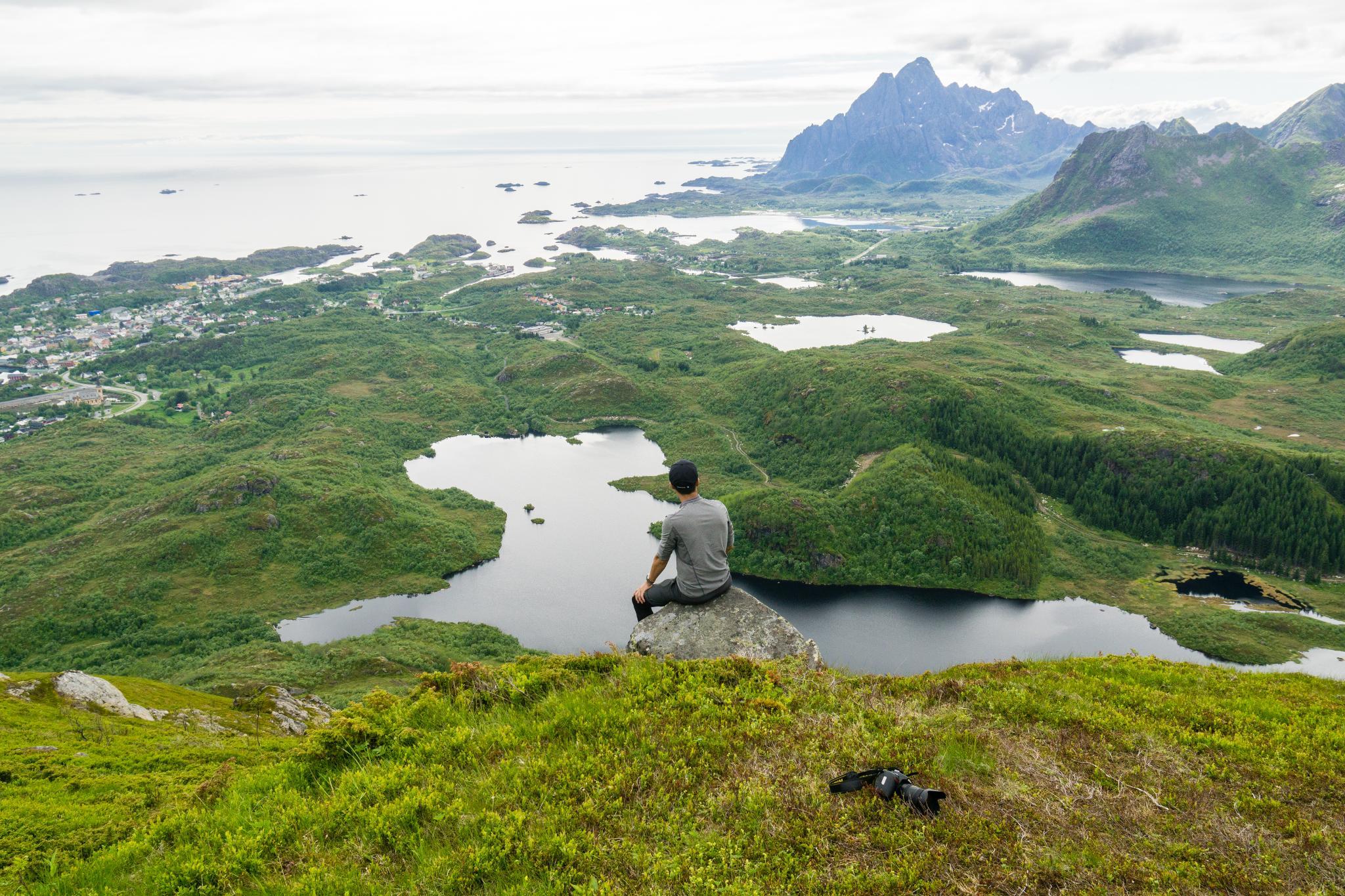 【羅弗敦群島】一次眺望兩個小鎮的人氣健行路線 - Tjeldbergtind Trail 31