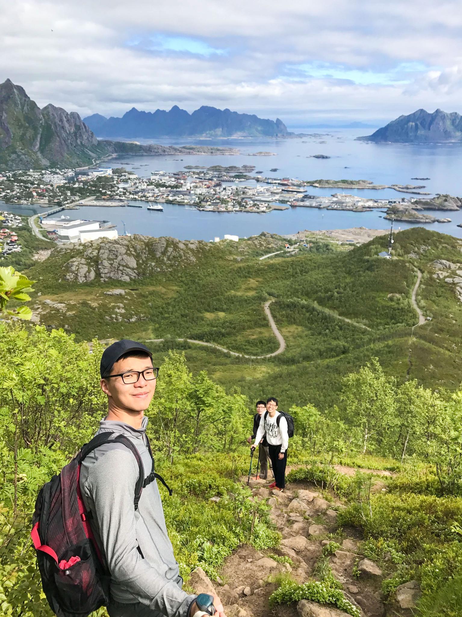 【羅弗敦群島】一次眺望兩個小鎮的人氣健行路線 - Tjeldbergtind Trail 8