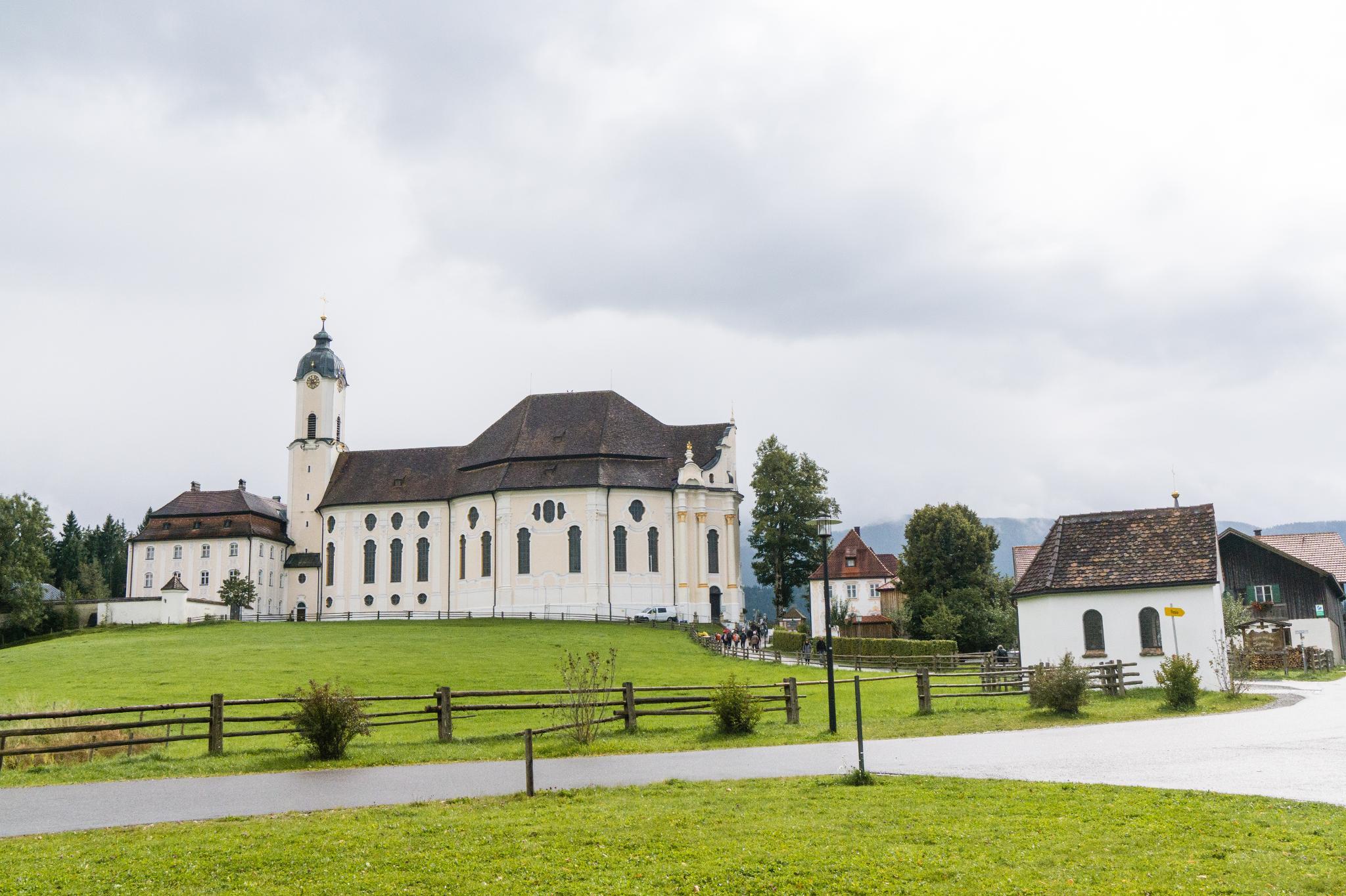 【德國】阿爾卑斯大道:維斯朝聖教堂 (Wieskirche) 11