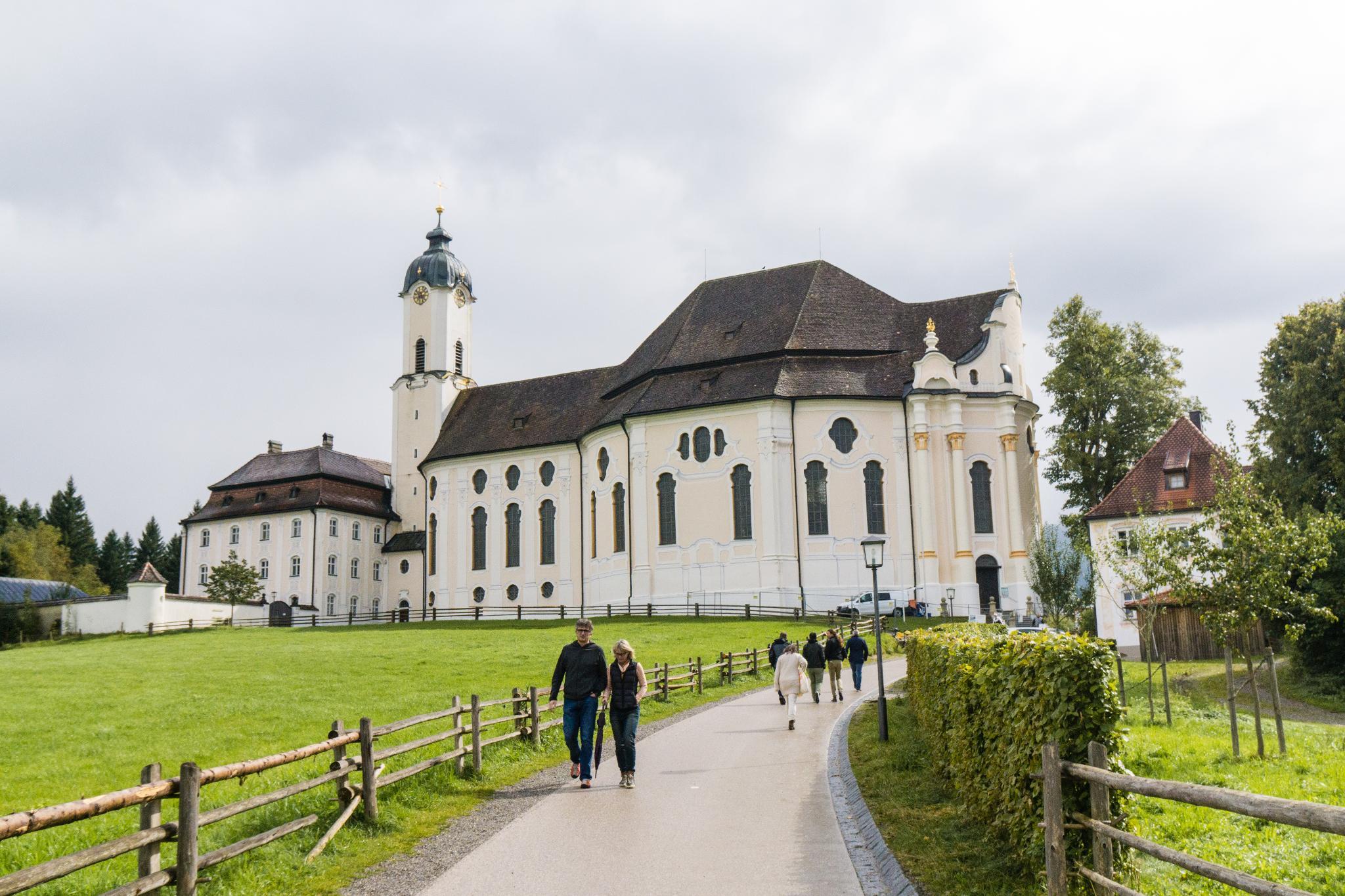 【德國】阿爾卑斯大道:維斯朝聖教堂 (Wieskirche) 12