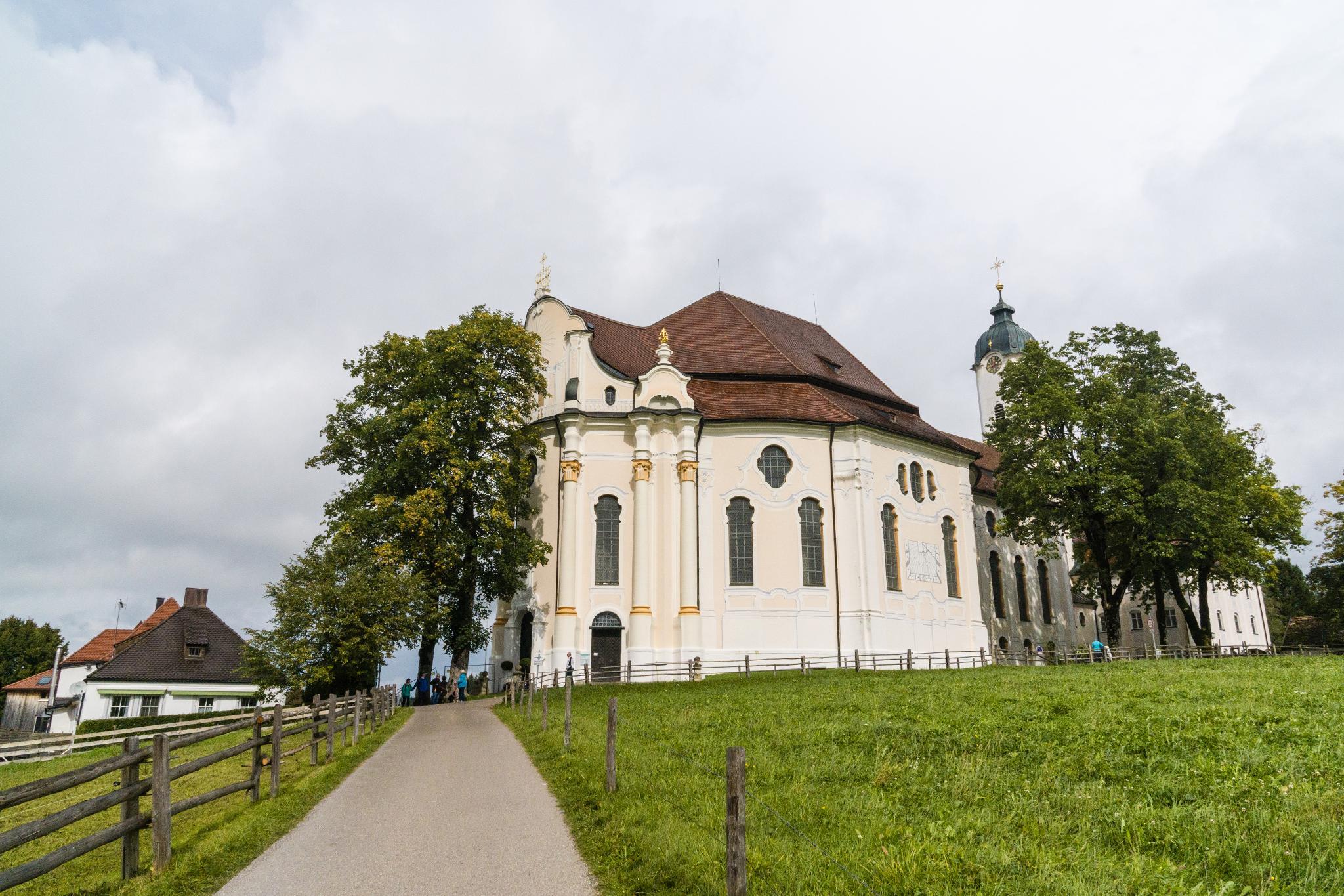 【德國】阿爾卑斯大道:維斯朝聖教堂 (Wieskirche) 13
