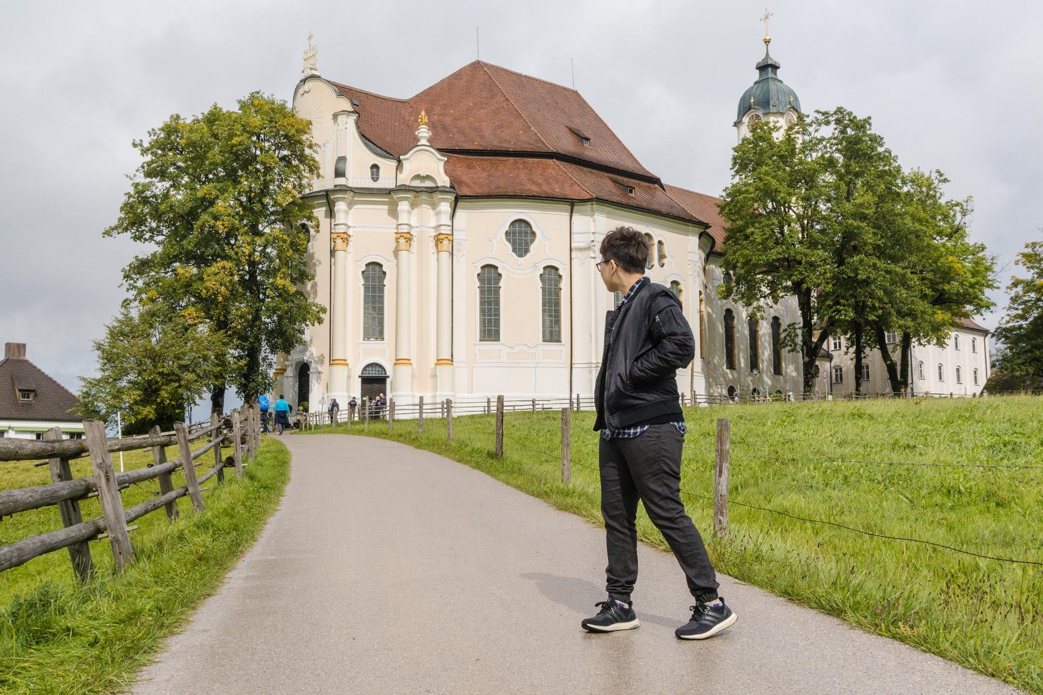【德國】阿爾卑斯大道:維斯朝聖教堂 (Wieskirche) 14