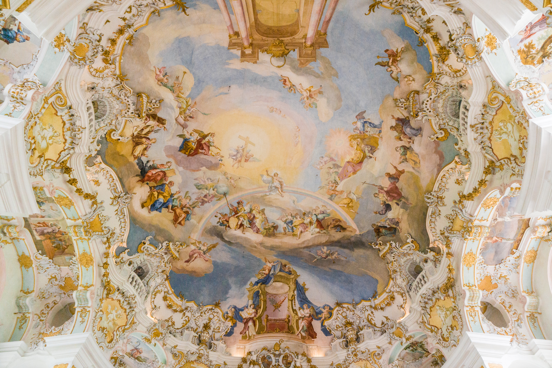 【德國】阿爾卑斯大道:維斯朝聖教堂 (Wieskirche) 18