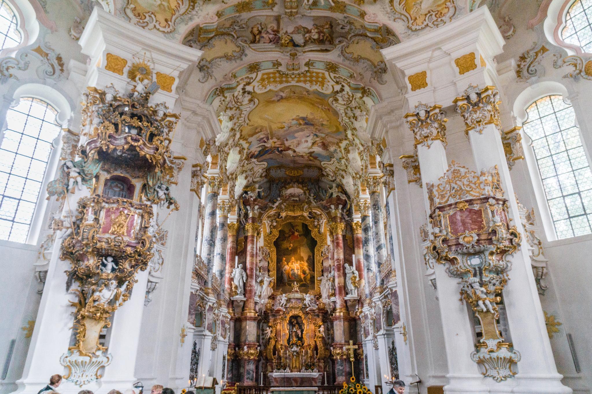 【德國】阿爾卑斯大道:維斯朝聖教堂 (Wieskirche) 19