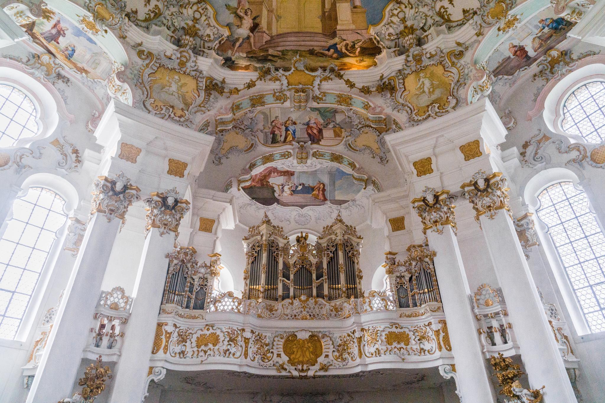 【德國】阿爾卑斯大道:維斯朝聖教堂 (Wieskirche) 21