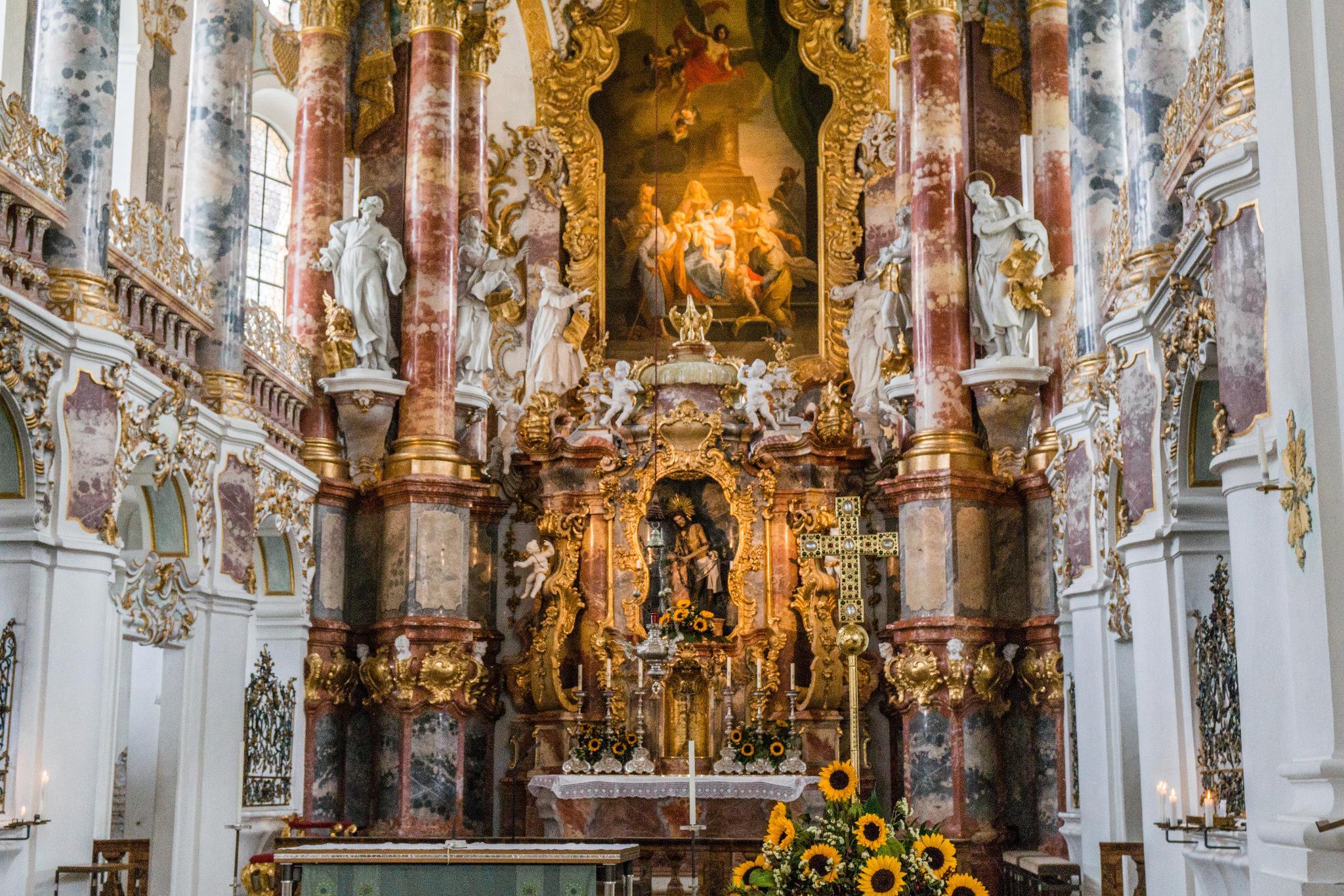 【德國】阿爾卑斯大道:維斯朝聖教堂 (Wieskirche) 20