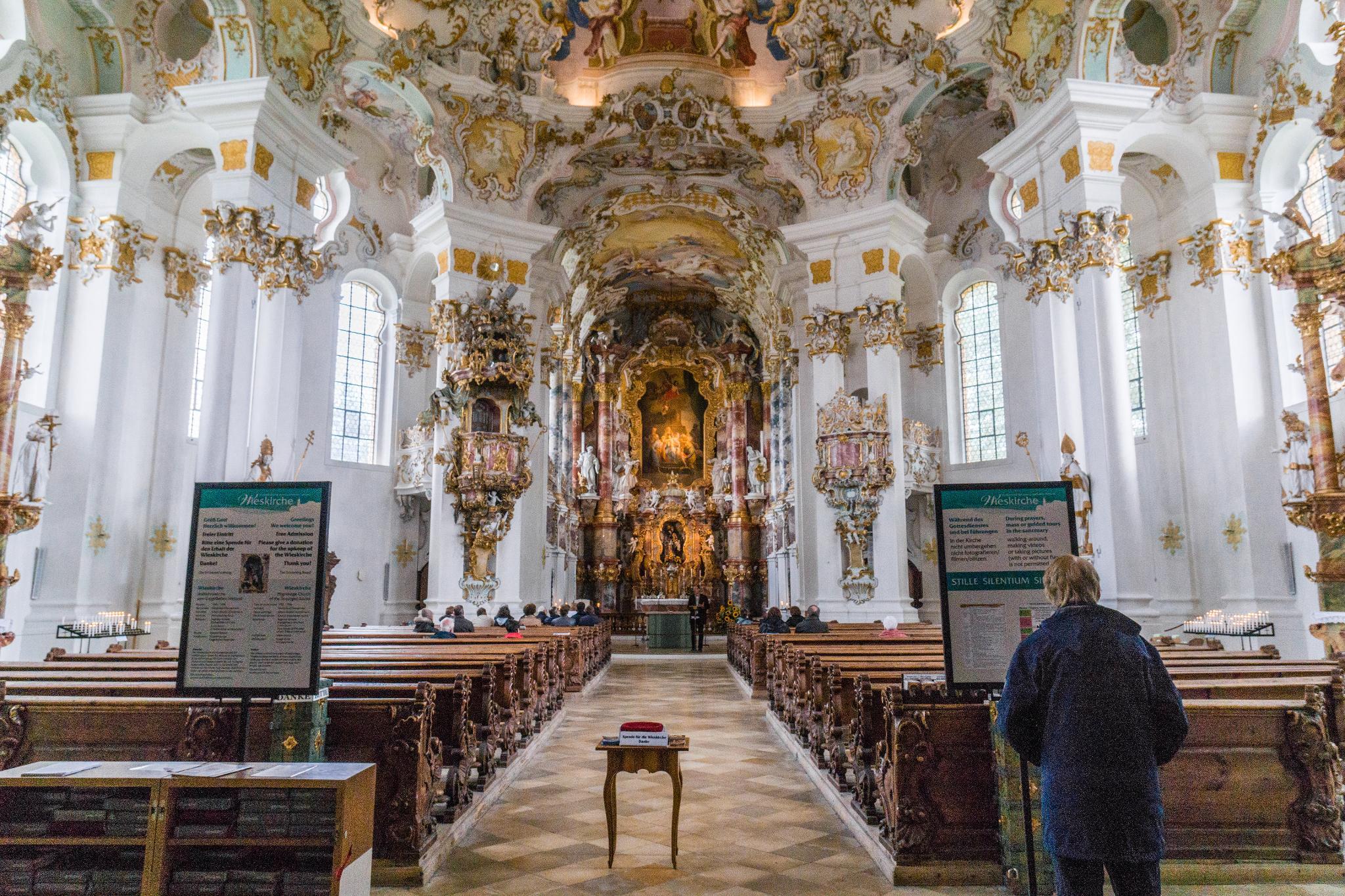 【德國】阿爾卑斯大道:維斯朝聖教堂 (Wieskirche) 15