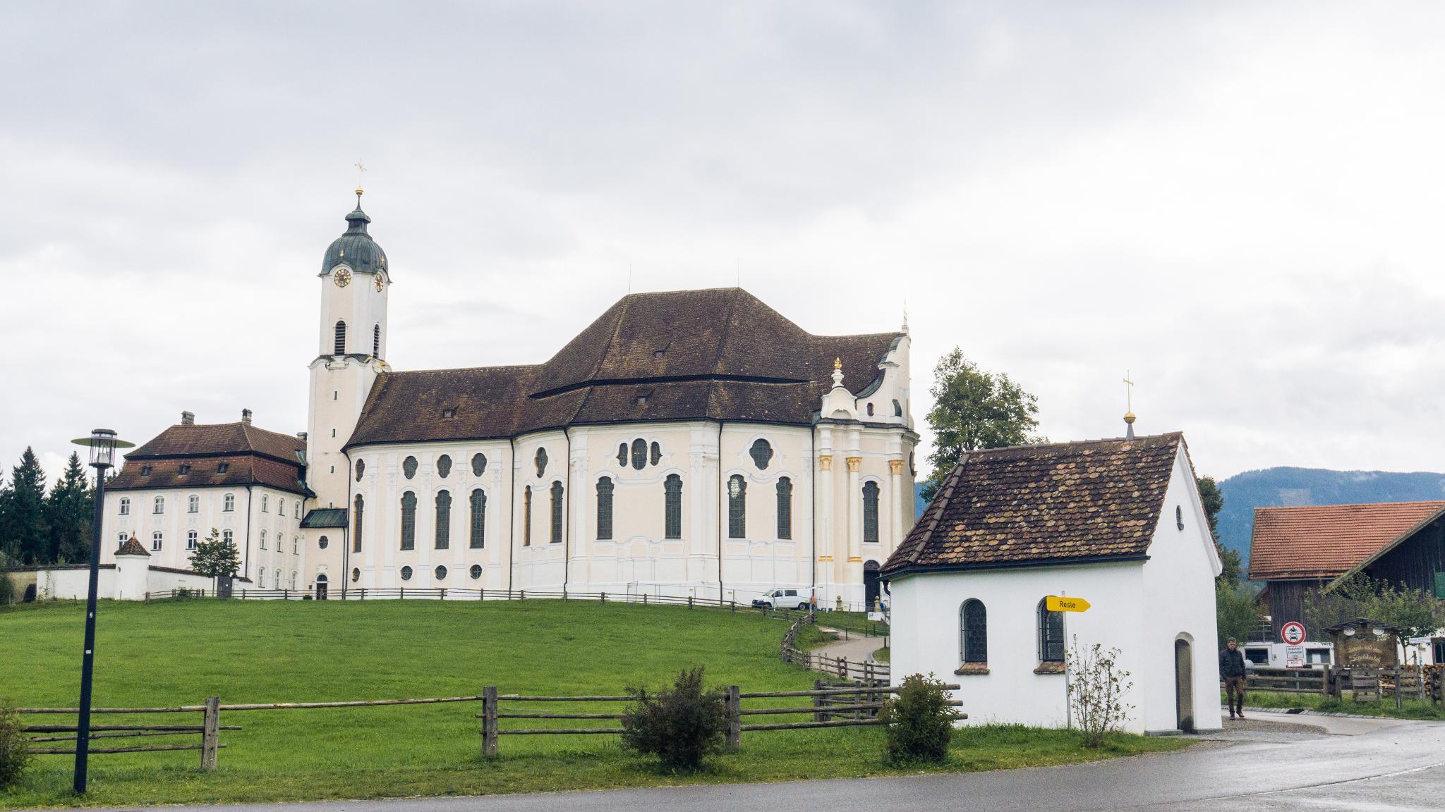 【德國】阿爾卑斯大道:維斯朝聖教堂 (Wieskirche) 23