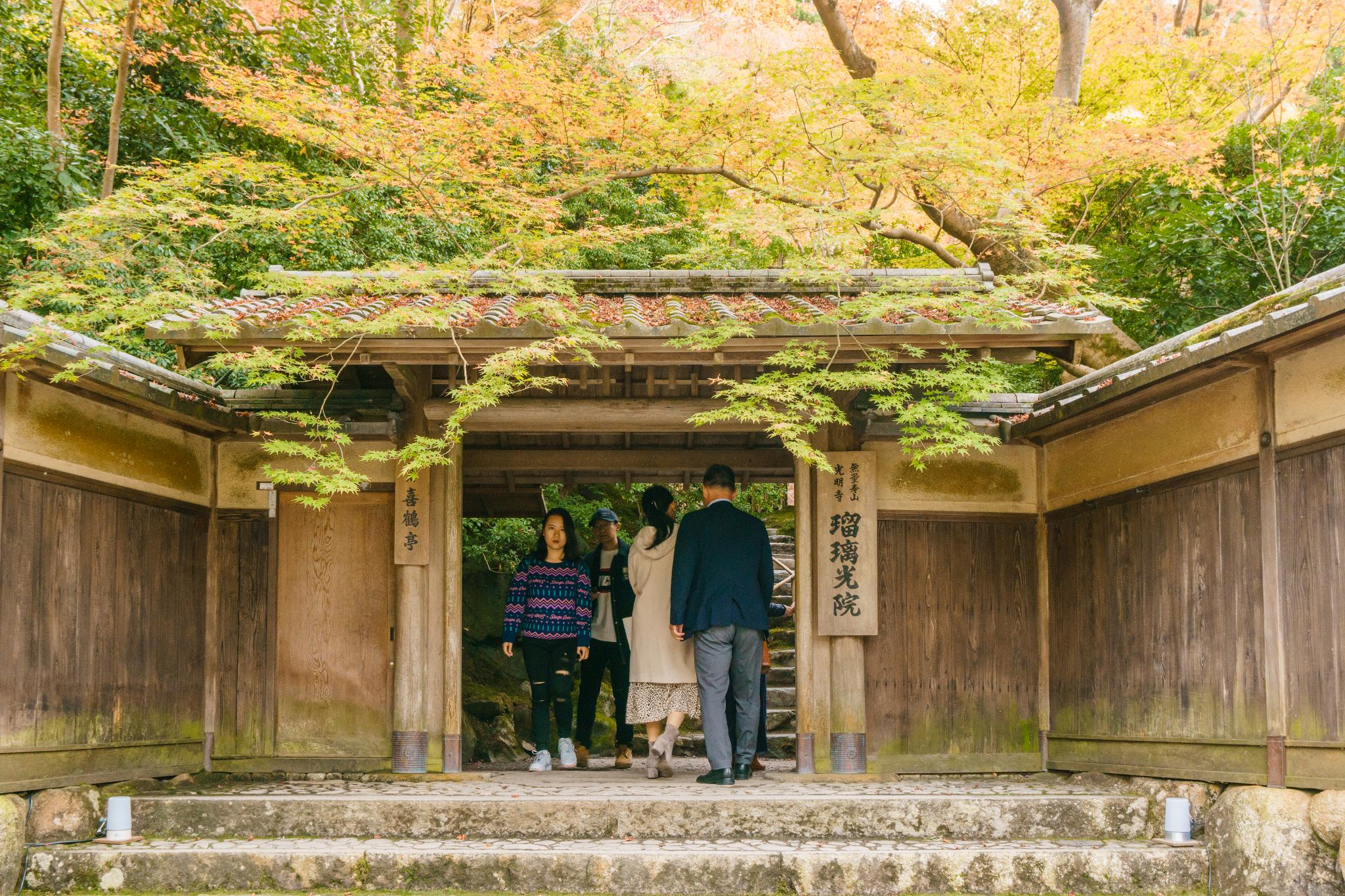 【京都】如夢似幻的琉璃光影 - 八瀨琉璃光院 78