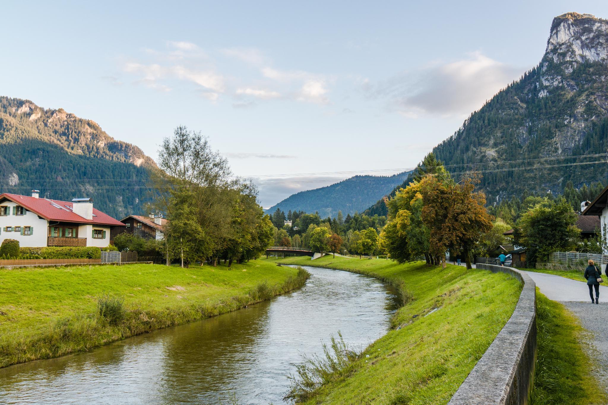 【德國】 阿爾卑斯大道 - 上阿瑪高小鎮 (Oberammergau) 3