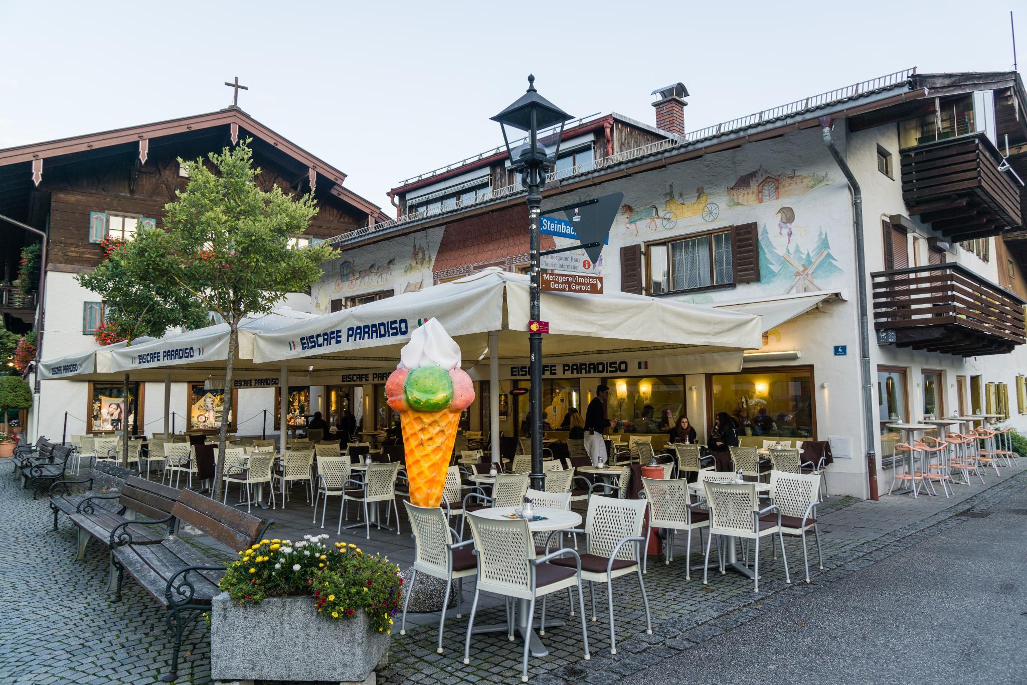 【德國】 阿爾卑斯大道 - 上阿瑪高小鎮 (Oberammergau) 4