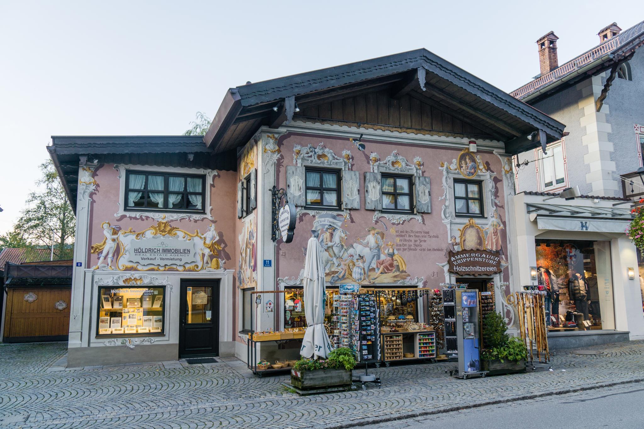 【德國】 阿爾卑斯大道 - 上阿瑪高小鎮 (Oberammergau) 6