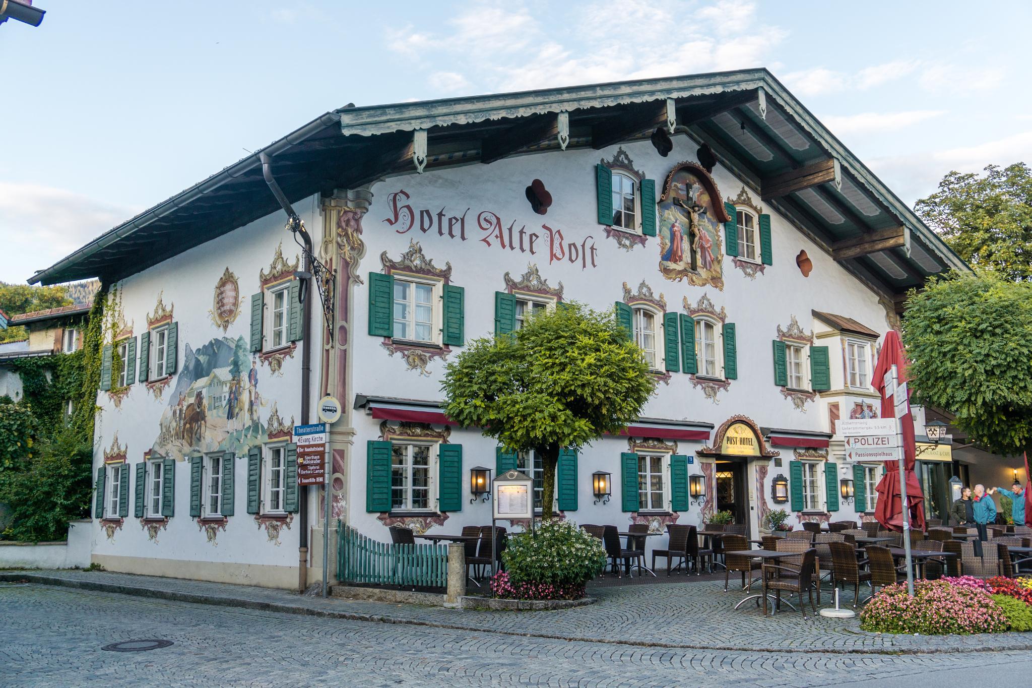 【德國】 阿爾卑斯大道 - 上阿瑪高小鎮 (Oberammergau) 7
