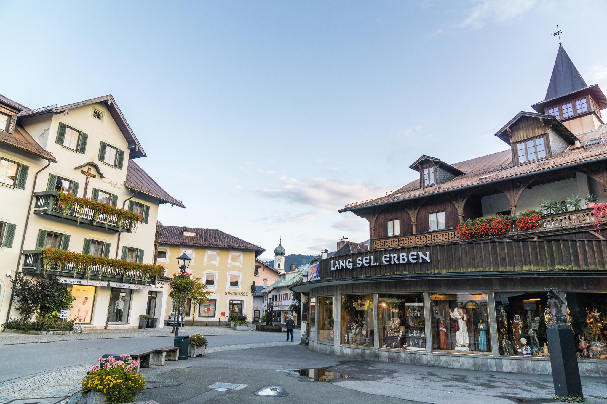 【德國】 阿爾卑斯大道 - 上阿瑪高小鎮 (Oberammergau) 8