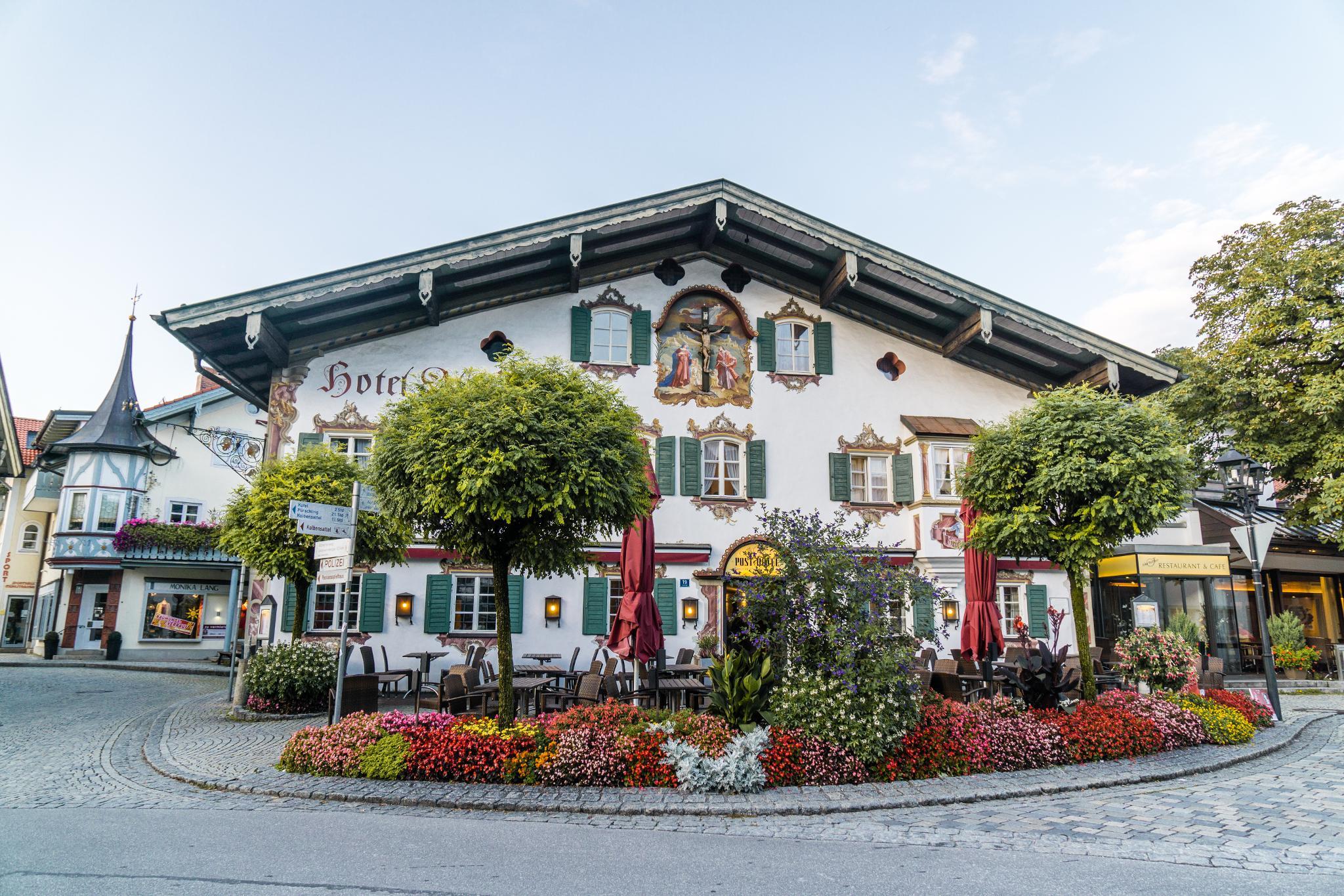 【德國】 阿爾卑斯大道 - 上阿瑪高小鎮 (Oberammergau) 9