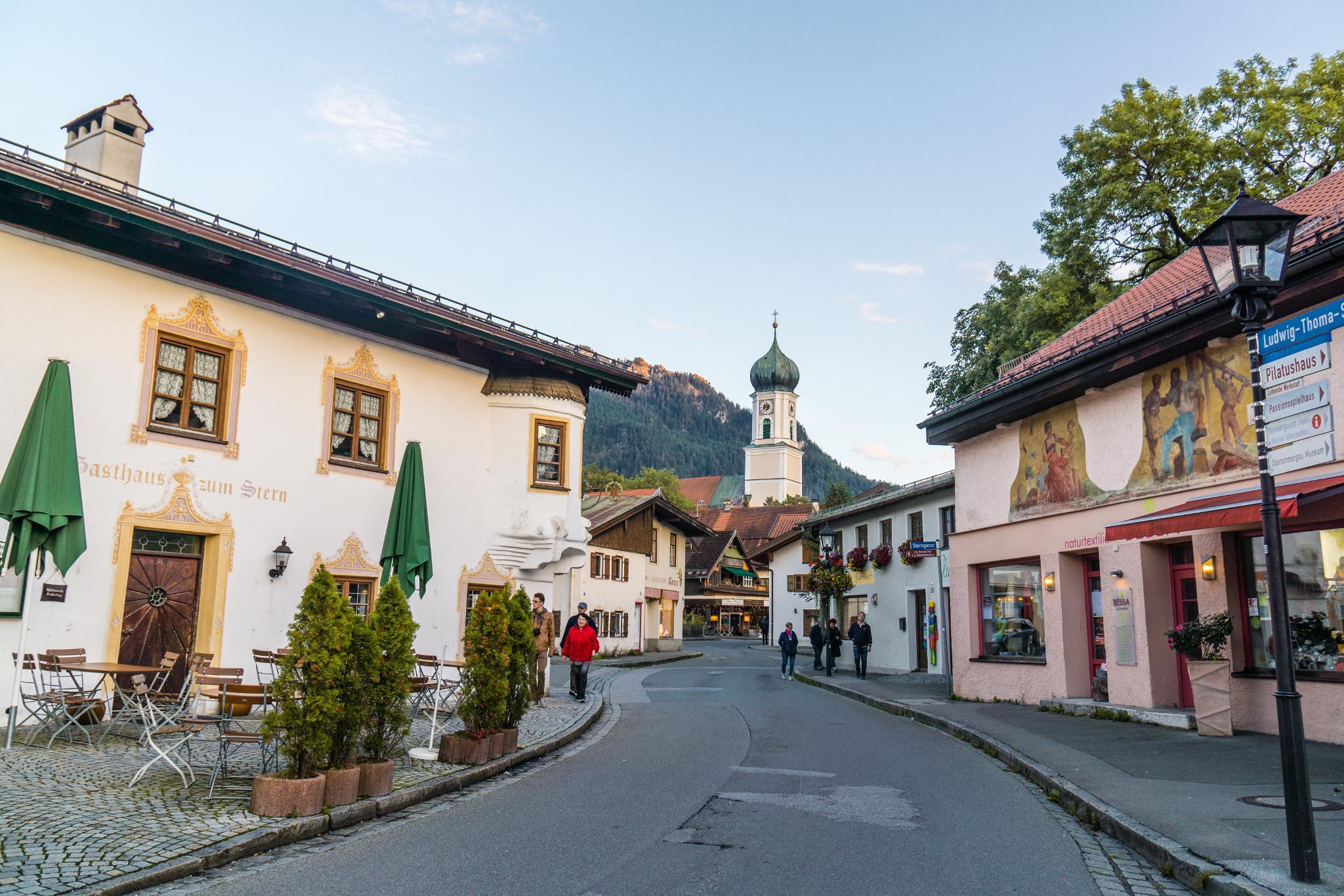 【德國】 阿爾卑斯大道 - 上阿瑪高小鎮 (Oberammergau) 10