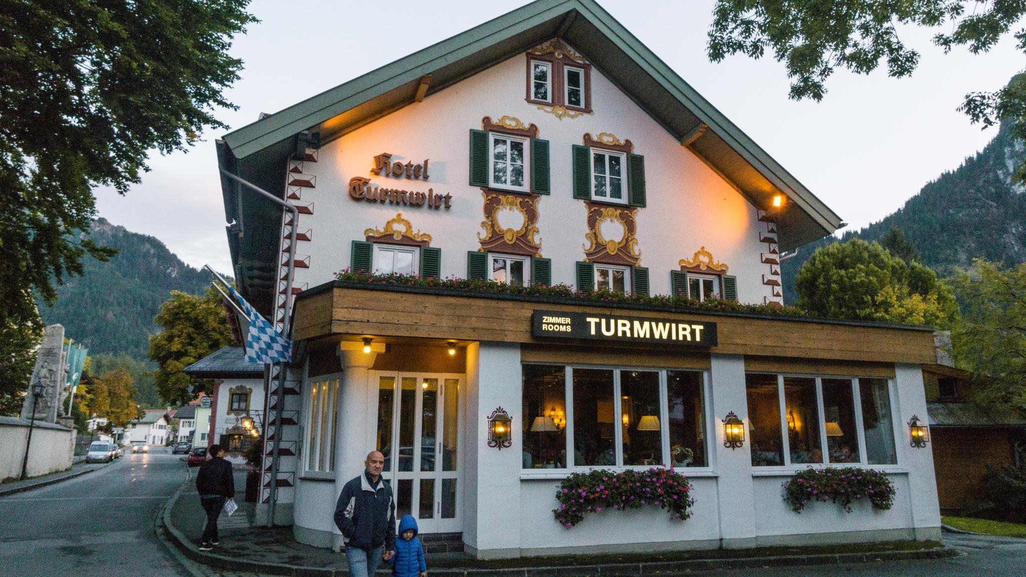 【德國】 阿爾卑斯大道 - 上阿瑪高小鎮 (Oberammergau) 12