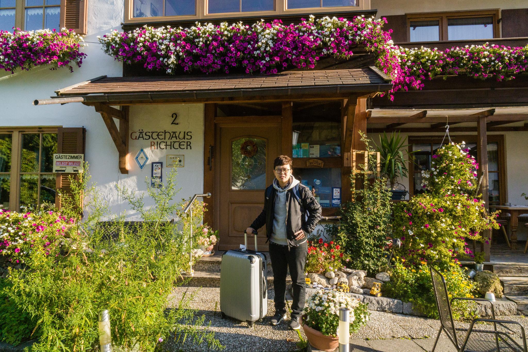 【德國】 阿爾卑斯大道 - 上阿瑪高小鎮 (Oberammergau) 13