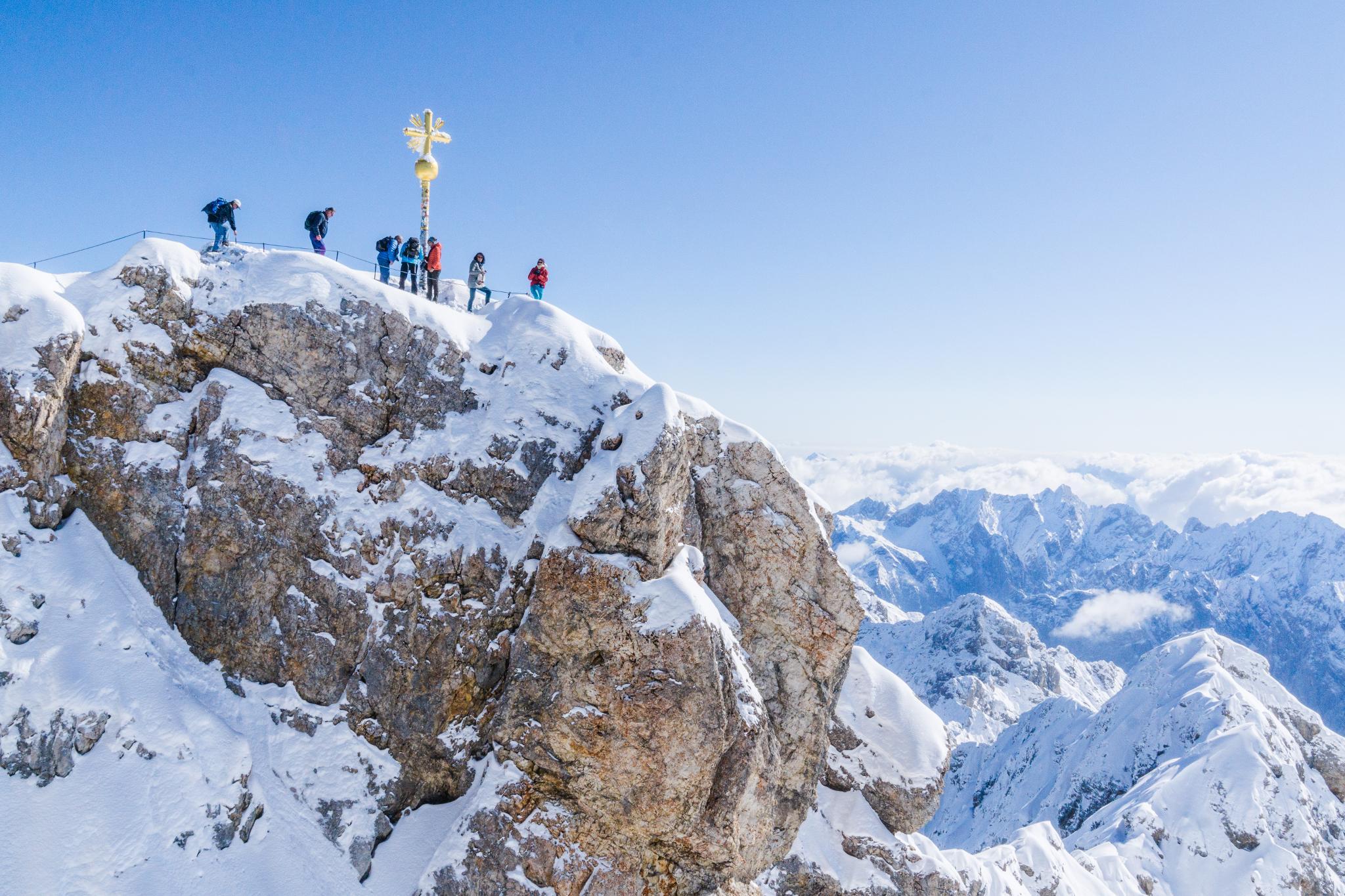 【德國】阿爾卑斯大道:楚格峰 (Zugspitze) 登上德國之巔