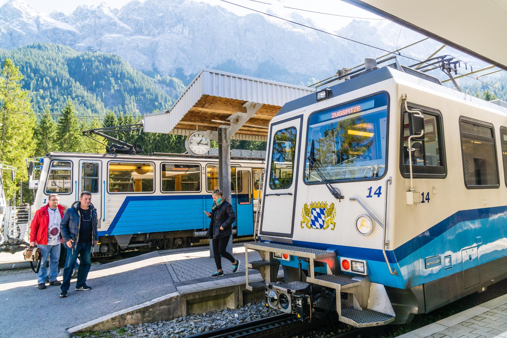 【德國】阿爾卑斯大道:楚格峰 (Zugspitze) 登上德國之巔 13