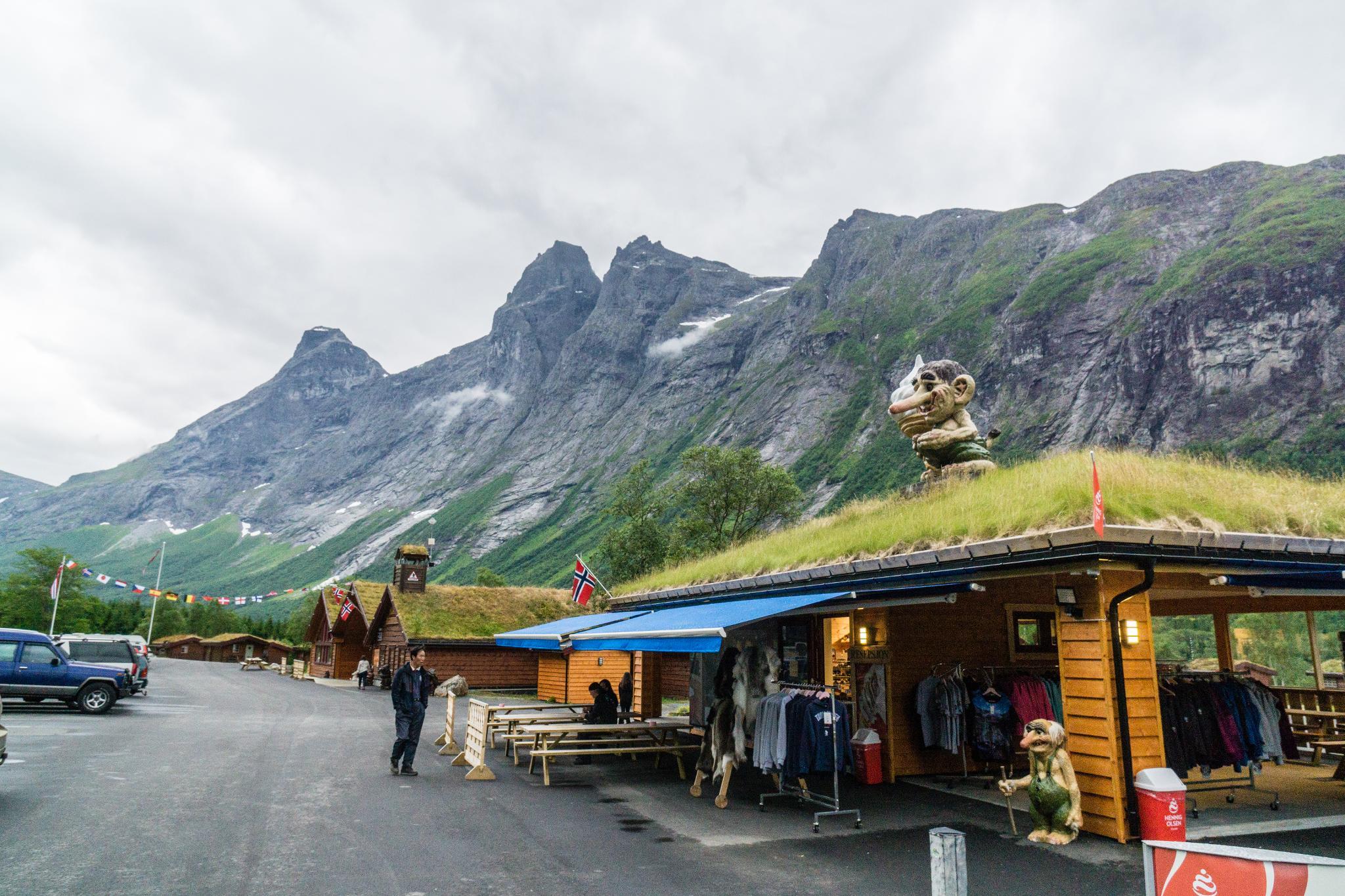 【北歐露營】在妖精出沒的峽谷中露營 - Trollstigen Camping 7