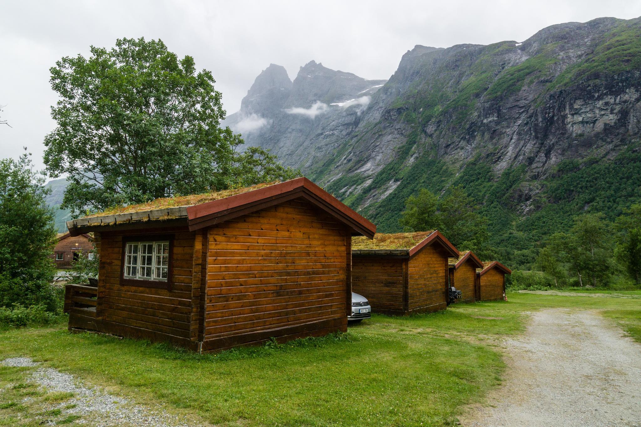 【北歐露營】在妖精出沒的峽谷中露營 - Trollstigen Camping 12