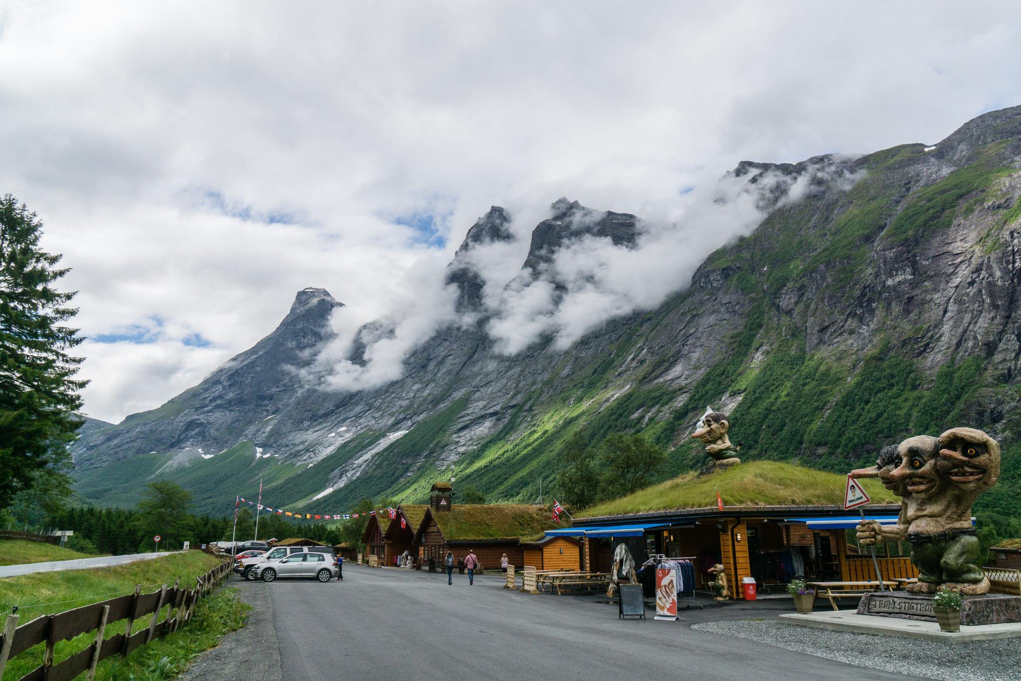 【北歐露營】在妖精出沒的峽谷中露營 - Trollstigen Camping 4